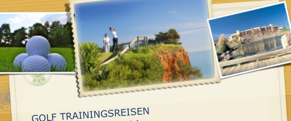 Newsletter -  Golf Trainingsreisen - Matthias Rollwa - Golfreisen