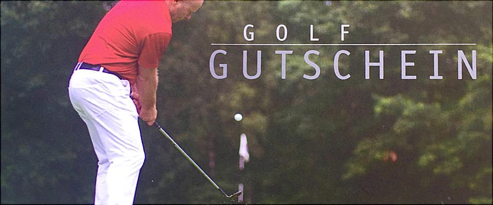 Golf Gutschein