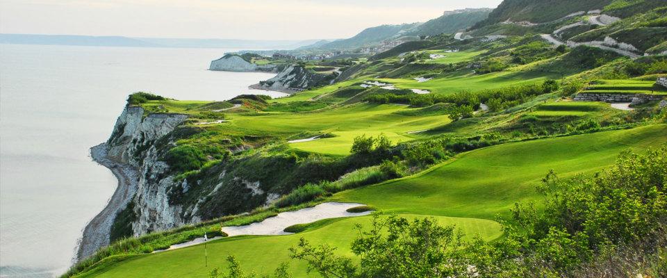 Golfreise Bulgarien/Cape Kaliakra Thracian Cliffs 2018